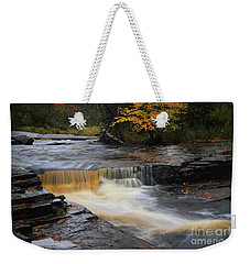 Canyon River Falls Weekender Tote Bag by Rachel Cohen