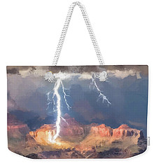 Canyon Storm Weekender Tote Bag