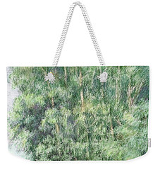 Canyon Trees Colorized Weekender Tote Bag