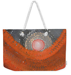 Canyon Wave Original Painting Weekender Tote Bag