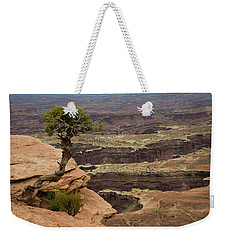 Weekender Tote Bag featuring the photograph Canyonlands by Gary Lengyel