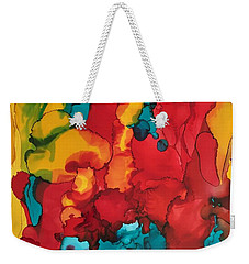 Canyons Of Color Weekender Tote Bag