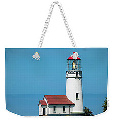 Cape Blanco Lighthouse At Cape Blanco, Oregon Weekender Tote Bag