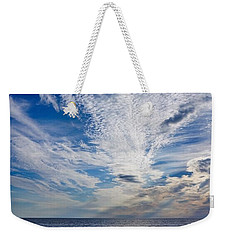 Weekender Tote Bag featuring the photograph Cape Clouds by Kendall McKernon