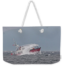 Weekender Tote Bag featuring the photograph Cape Cockburn by Randy Hall