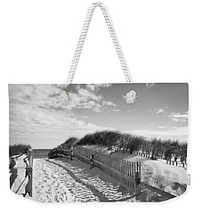 Cape Cod Beach Entry Weekender Tote Bag by Mircea Costina Photography