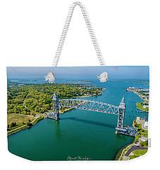 Cape Cod Canal Railroad Weekender Tote Bag