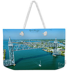 Cape Cod Canal Suspension Bridge Weekender Tote Bag