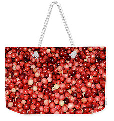 Cape Cod Cranberries Weekender Tote Bag