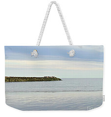 Cape Cod Jetty Sundown Weekender Tote Bag