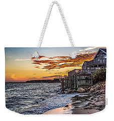 Weekender Tote Bag featuring the photograph Cape Cod September by Kendall McKernon