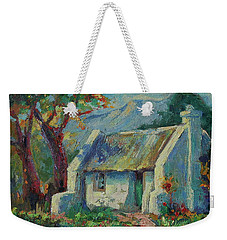 Cape Cottage With Mountains Art Bertram Poole Weekender Tote Bag by Thomas Bertram POOLE