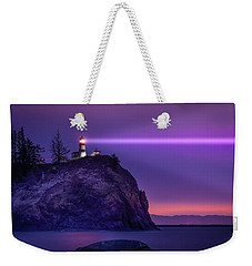 Cape Disappointment Light Weekender Tote Bag