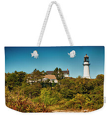 Cape Elizabeth Lighthouse Weekender Tote Bag