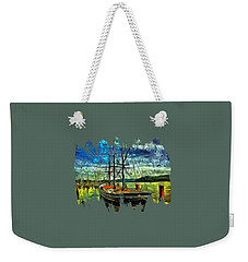 Weekender Tote Bag featuring the photograph Cape Foulweather Tall Ship by Thom Zehrfeld