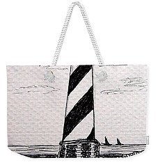 Cape Hatteras Lighthouse Nc Weekender Tote Bag