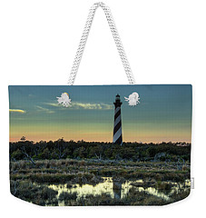 Cape Hatteras Sunset Weekender Tote Bag