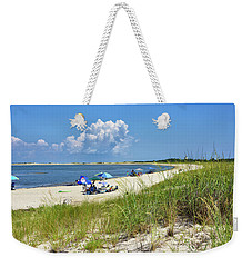 Cape Henlopen State Park - Beach Time Weekender Tote Bag
