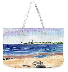 Cape May Beach Weekender Tote Bag by Clara Sue Beym