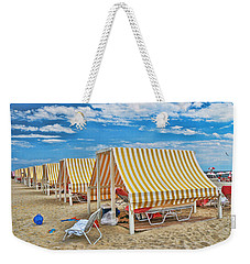 Cape May Cabanas 2 Weekender Tote Bag