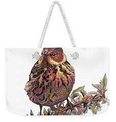 Cape May Warbler Weekender Tote Bag