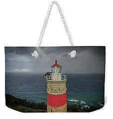 Weekender Tote Bag featuring the photograph Cape Moreton Light by Keiran Lusk