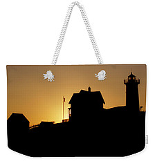Cape Neddick-nubble Light Weekender Tote Bag