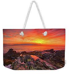 Cape Neddick Sunrise Weekender Tote Bag