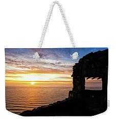 Cape Perpetua Sunset Weekender Tote Bag