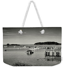 Cape Porpoise Harbor Weekender Tote Bag