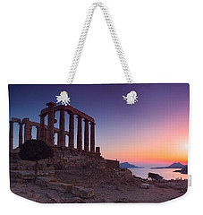 Cape Sounion Weekender Tote Bag