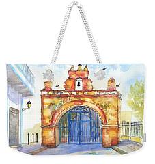 Capilla Del Cristo Puerto Rico Weekender Tote Bag by Carlin Blahnik