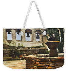 Capistrano Fountain Weekender Tote Bag