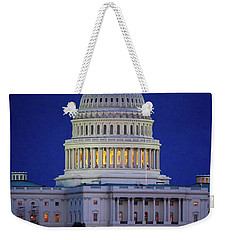 Capitol At Dusk Weekender Tote Bag
