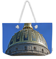 Capitol Dome Charleston Wv Weekender Tote Bag by DigiArt Diaries by Vicky B Fuller