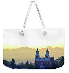 Capitol Hill Sun Up Weekender Tote Bag
