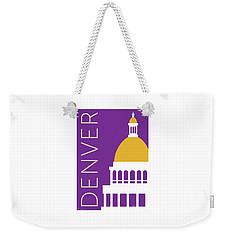 Denver Capitol/purple Weekender Tote Bag