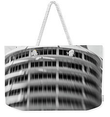 Weekender Tote Bag featuring the photograph Capitol Records Building 18 by Micah May