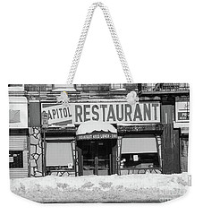 Capitol Winter Weekender Tote Bag by Cole Thompson