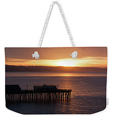 Capitola Day Begins Weekender Tote Bag by Lora Lee Chapman