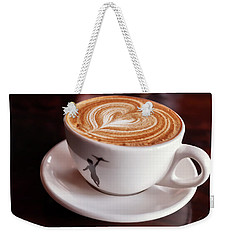 Weekender Tote Bag featuring the photograph Cappuccino by Anthony Citro