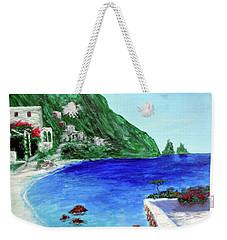 Capri Weekender Tote Bag by Larry Cirigliano