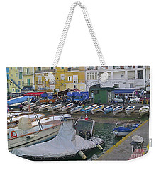 Capri Small Harbor Weekender Tote Bag