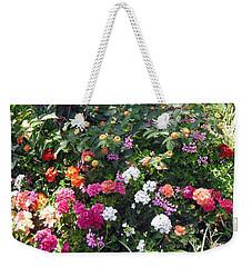 Capri Street Scene Garden Weekender Tote Bag by Jodie Marie Anne Richardson Traugott          aka jm-ART
