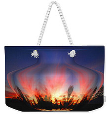 Weekender Tote Bag featuring the photograph Capricorn Morning by Joyce Dickens