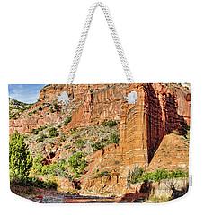 Caprock Canyon Cliff Weekender Tote Bag