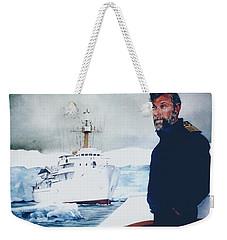 Capt Derek Law Weekender Tote Bag by Tim Johnson