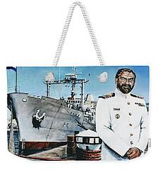 Capt Eric Green Weekender Tote Bag by Tim Johnson
