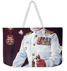 Capt John Lamont Weekender Tote Bag by Tim Johnson