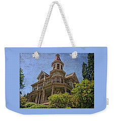 Weekender Tote Bag featuring the photograph Captain George Flavel House by Thom Zehrfeld